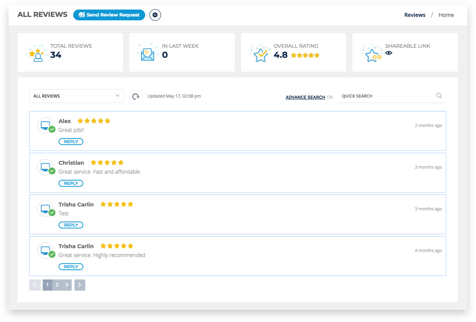 Centralized-Online-Review-Hub